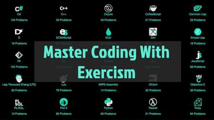 exercism ابزار مهارت برنامه نویسی